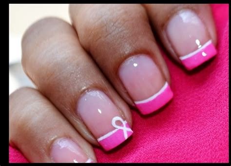 breast cancer nail designs breast cancer nails pink nail designs tutorial