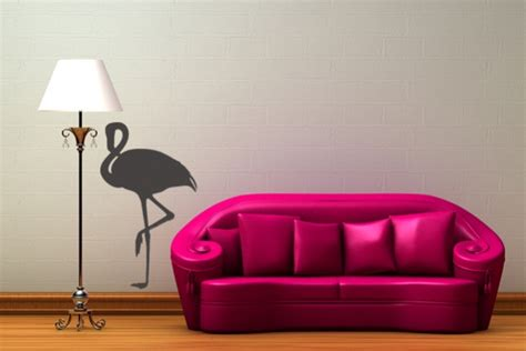 Flamingo Wandtattoo Kinderzimmer by Wandtattoo Quot Flamingo Quot Bei Print It All Kaufen