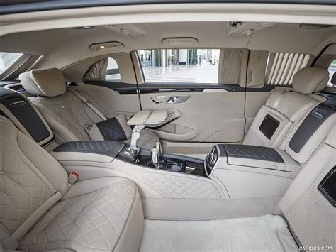 The windows are opened through a hydraulic system. 2016 Mercedes-Maybach S600 Pullman - Interior   HD ...