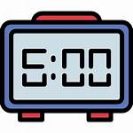 Digital Clock Icon Icons