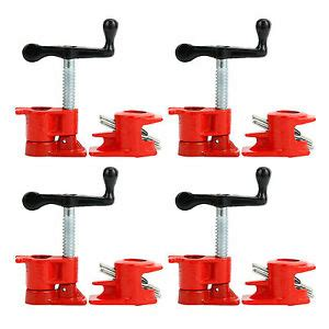 pack  wood gluing pipe clamp set heavy duty