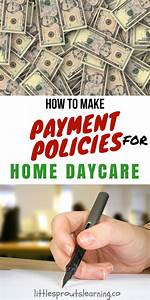 How To Make Payment Policies For Home Daycare