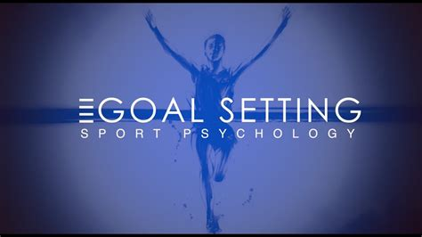 goal setting sport physical education pe sport
