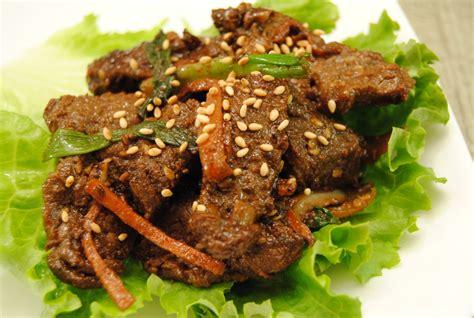 bulgogi recipe korean bulgogi recipe dishmaps
