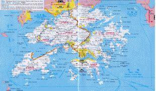 Ģeogrāfiskā karte - Honkonga (Hong Kong) - MAP[N]ALL.COM