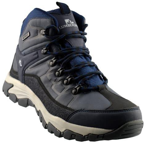 light waterproof boots mens new waterproof lightweight hiking walking trail ankle