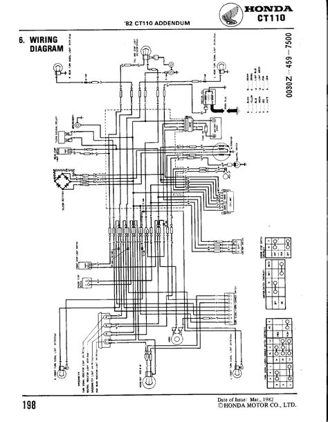 1967 honda ct90 wiring diagram honda auto wiring diagram