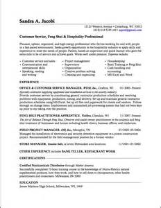 change management resume exles career change management resume exles