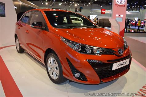 toyota yaris showcased   dubai motor show