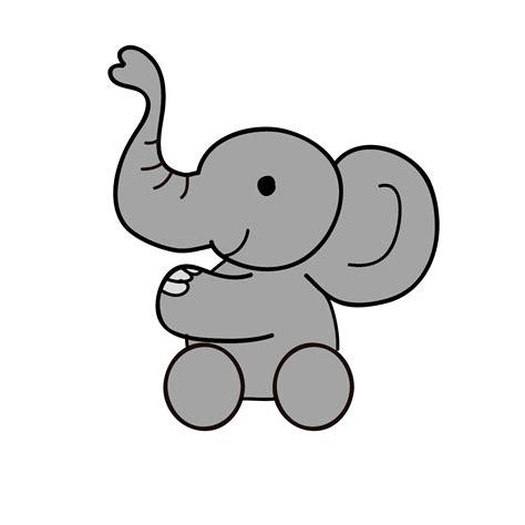 elephant cartoon image clipart  clipartsco