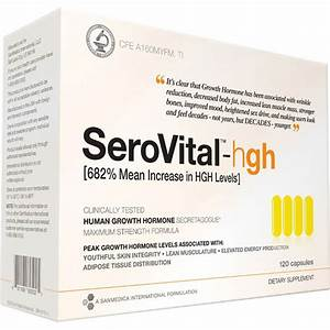 Serovital Human Growth Hormone  Hgh  Dietary Supplement