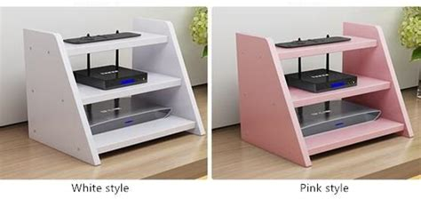 small household multifunctional small desktop storage rack shelf router box