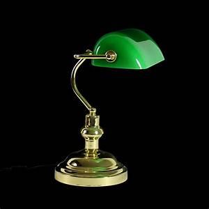 Bankerlampe Grün Original : nostalgische bankerlampe schreibtischlampe bibliothekslampe tischlampe gr n ebay ~ Markanthonyermac.com Haus und Dekorationen
