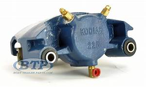 Kodiak Integral Disc Brake Kit Koda Guard 6 Lug 5200lb Axles