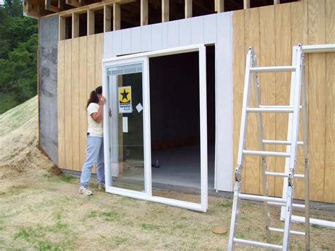 Patio Door Installing Sliding Patio Door