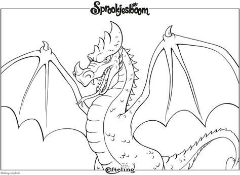 Kleurplaten Draken by Draak Sprookjesboom Efteling Kleurplaat Efteling