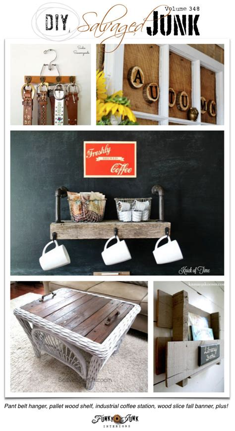 diy salvaged junk projects funky junk interiors