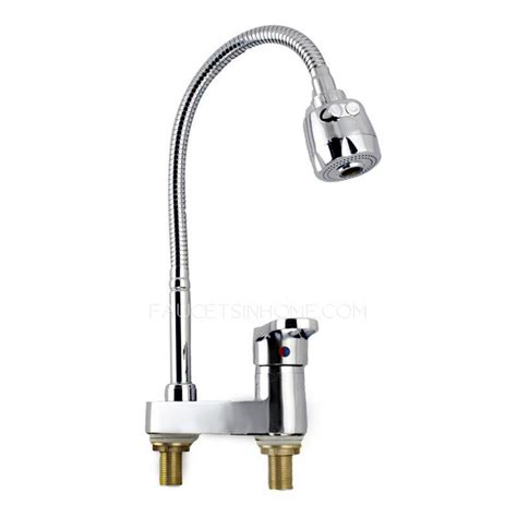 kitchen faucet discount discount full rotatable two holes cheap kitchen faucet