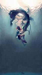 Haku / Spirited Away / Studio Ghibli iPhone 5 Wallpaper ...