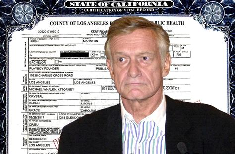 Hugh Hefner Died Of Cardiac Arrest & E.coli Per Death ...