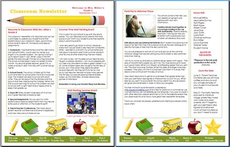 school newsletter templates bravebtr