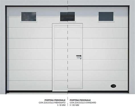 porta sezionale optional per porte sezionali e basculanti a brescia