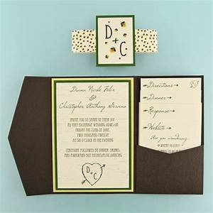 Woodgrain and firefly pocket invitation cards pockets design idea blog for Cards and pockets com