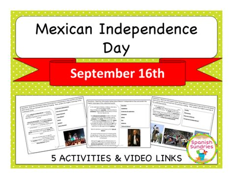 Mexican Independence Day | Teaching Resources