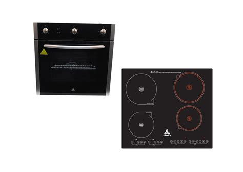 trinity kitchen appliance package cm electric wall oven induction ceramic cooktop