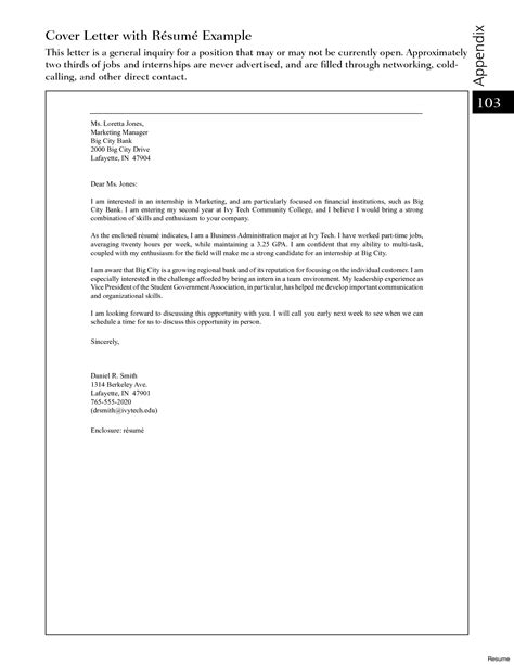 Sle Teaching Cover Letters With No Experience by Marketing Cover Letter Exles Resume For Sles That Worked