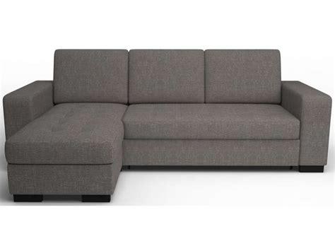 canapé d 39 angle convertible coloris gris vente