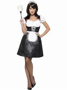 Ladies French Maid Costume - Plus Size