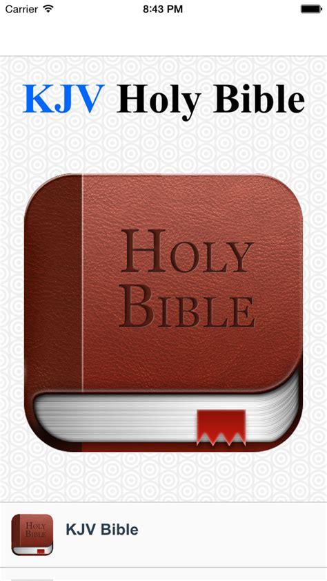 App Shopper Kjv Bible Offline (books