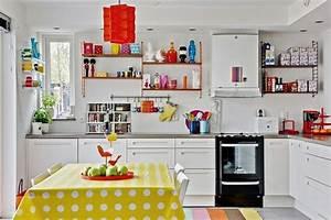 idee decoration cuisine le charme de la cuisine scandinave With idee deco cuisine avec lit design