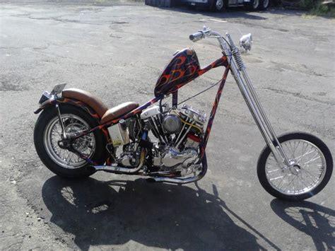 Old School Shovelhead Chopper