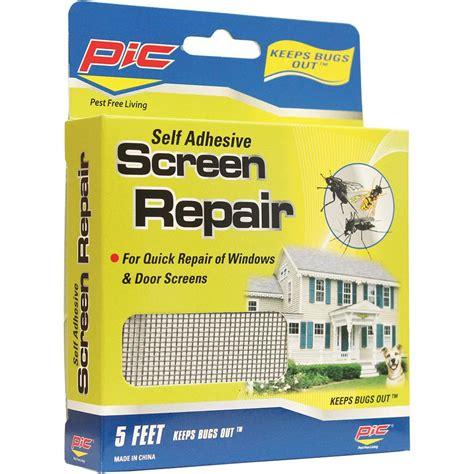 screen door repair kit self adhesive screen repair kit p i c corp screen