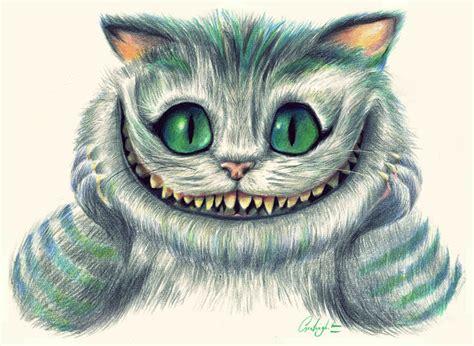 Wonderland Cheshire Cat Drawings Coloringsnet
