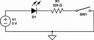 Voltage Drop Across Led In Open Circuit