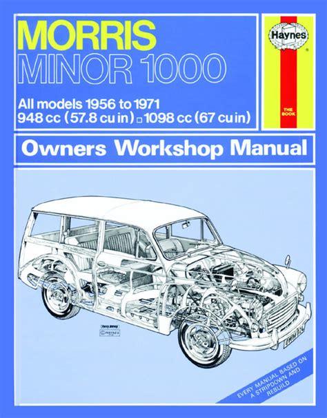Haynes Manual Morris Minor