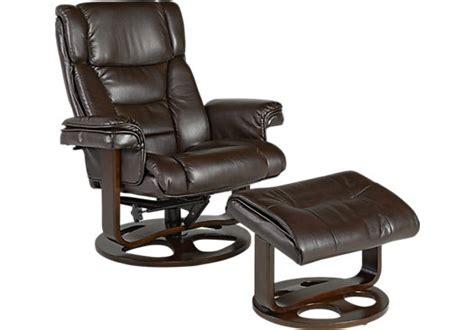 Matteo Brown Chair & Ottoman