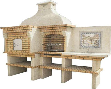 cuisine de reference pdf barbecue et four à avec plan de travail en gravier