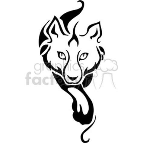 wild howling wolf  clipart royalty  gif jpg png