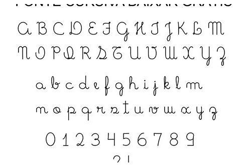 baixar moderna fontes cursivas grátis