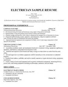 Lineman Resume Template Pics Photos Electrician Sle Resume
