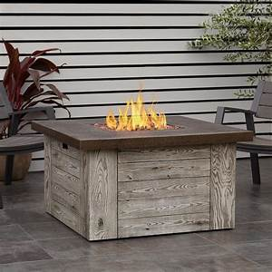 Real Flame Forest Ridge 42 Inch Square Propane Fire Pit