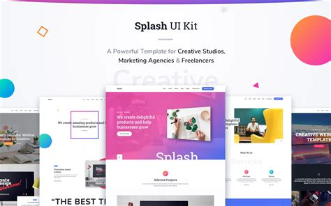 Ui Kit Html5 Responsive Website Template