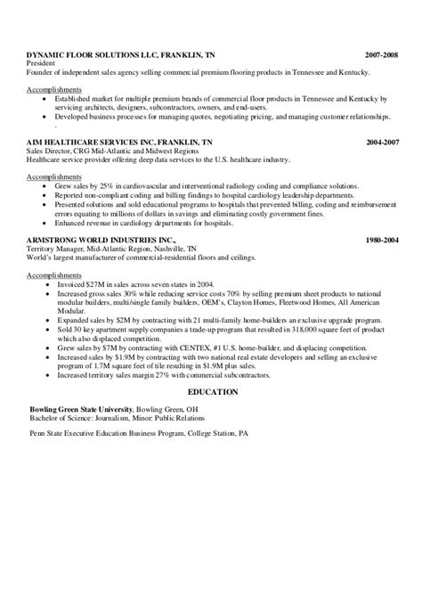 health care industry resume