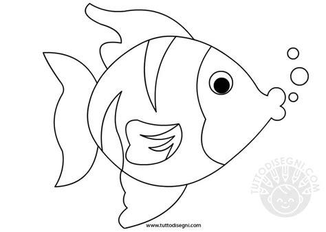 disegno pesce da colorare per bambini pesce disegno da colorare tuttodisegni