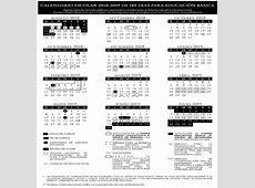¡Que no se te pase! Este es el calendario escolar 2018