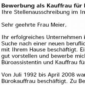 Bewerbung Kaufmann Im Einzelhandel : bewerbungsschreiben vorlage kauffrau im einzelhandel ~ Orissabook.com Haus und Dekorationen